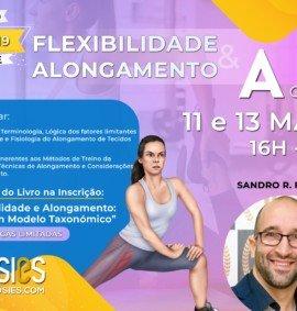 Webinar Flexibilidade e Alongamento de A a Z | 11 e 13 MAIO