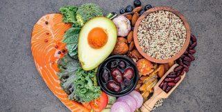 vários alimentos nutrição