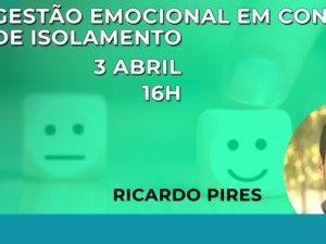 Webinar Gestão Emocional em Contexto de Isolamento